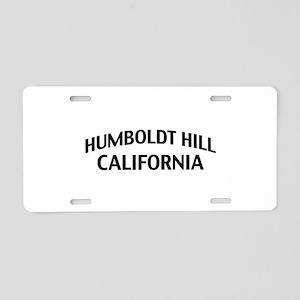 Humboldt Hill California Aluminum License Plate