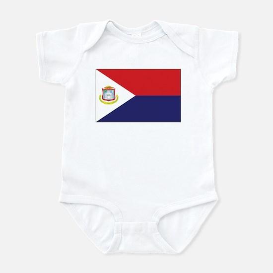 Sint Maarten Flag Infant Bodysuit