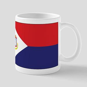 Sint Maarten Flag Mug