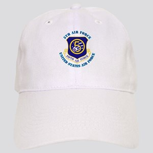 5th Air Force with Text Cap