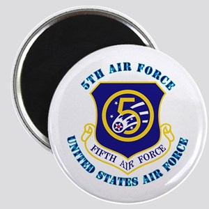 5th Air Force with Text Magnet