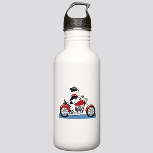 Dog Motorcycle Stainless Water Bottle 1.0L