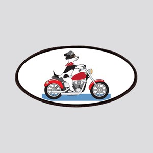 Dog Motorcycle Patches