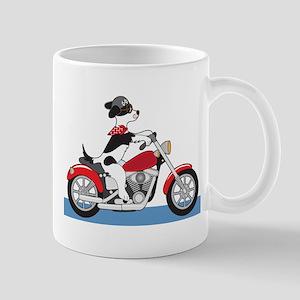 Dog Motorcycle Mug