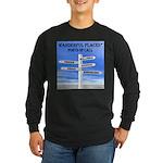 Ports of Call Long Sleeve Dark T-Shirt