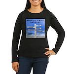 Ports of Call Women's Long Sleeve Dark T-Shirt