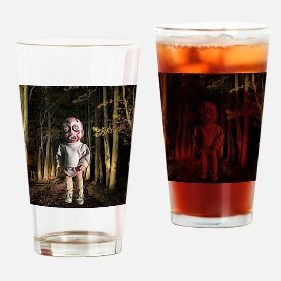Odo the alien Drinking Glass