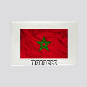 Flag of Morocco Rectangle Magnet (10 pack)