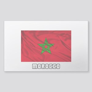 Flag of Morocco Sticker (Rectangle 10 pk)