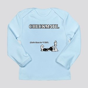 Checkmate I Win Long Sleeve Infant T-Shirt