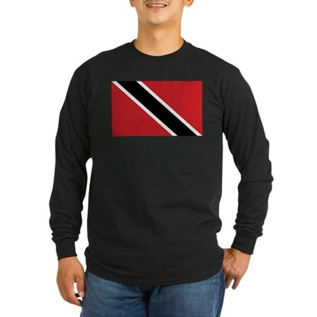 TNT Flag Long Sleeve Dark T-Shirt
