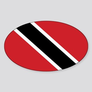 TNT Flag Sticker (Oval)