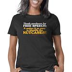 Free speeech 1 trsp Women's Classic T-Shirt