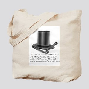 Abe Lincoln Tote Bag
