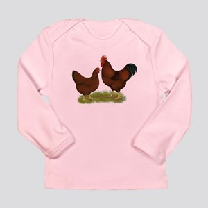 New Hampshire Chickens Long Sleeve Infant T-Shirt