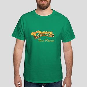Cheers Norm Peterson Dark T-Shirt