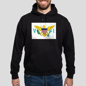 USVI Flag Hoodie (dark)