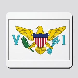 USVI Flag Mousepad