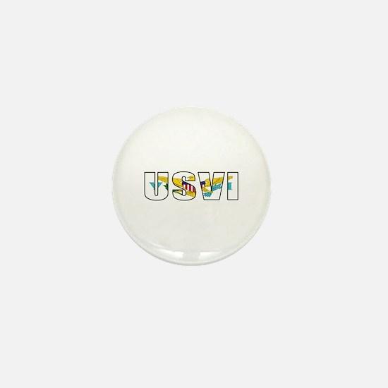 USVI Mini Button