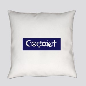 coexist design Everyday Pillow