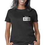Ringbearer Nametag (black) Women's Classic T-Shirt
