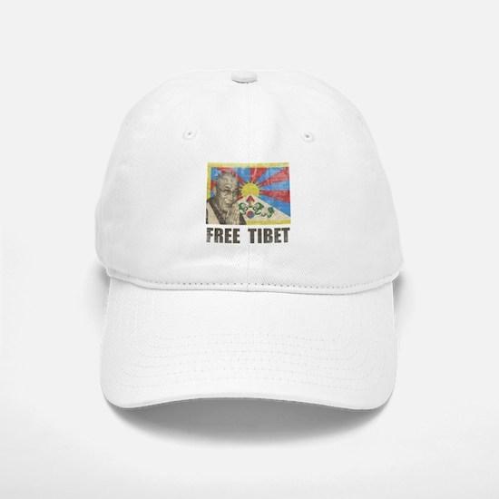 Dalai Lama Free Tibet Baseball Baseball Cap