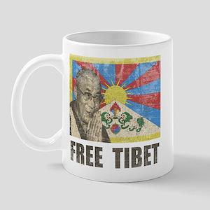 Dalai Lama Free Tibet Mug