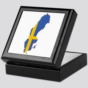"""Pixel Sweden"" Keepsake Box"