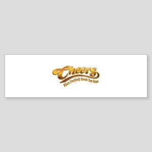 Cheers Logo Sticker (Bumper)