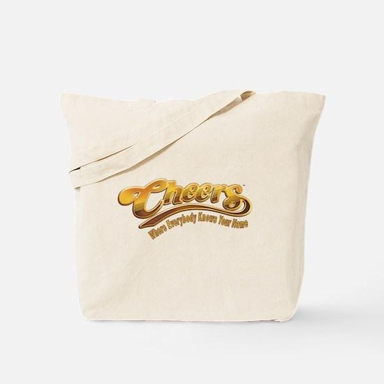 Cheers Logo Tote Bag