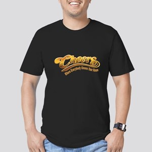 Cheers Logo Men's Fitted T-Shirt (dark)