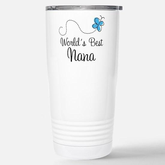 Nana (World's Best) Stainless Steel Travel Mug