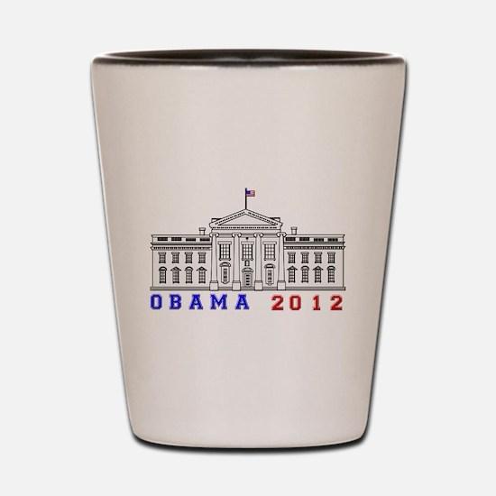 Obama 2012 Election Commemorative Shot Glass