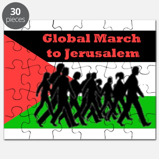 Global March to Jerusalem Puzzle