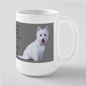 Westie Dad Large Mug