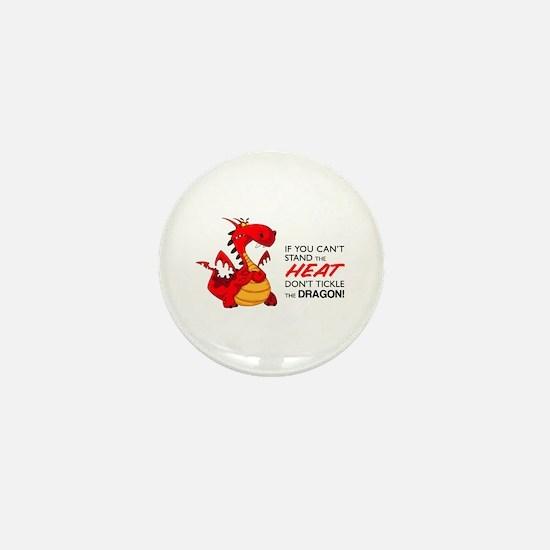 Tickle Dragon Mini Button