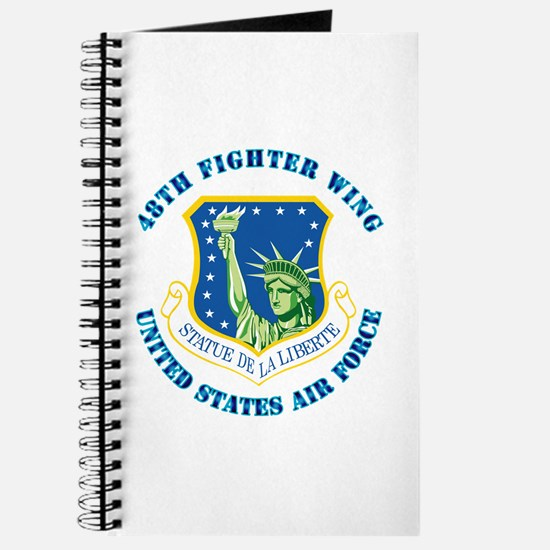 48th Fighter Wing with Text Journal