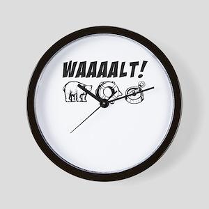 walt & michael Wall Clock