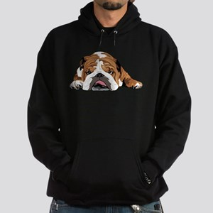 Teddy the English Bulldog Hoodie Sweatshirt
