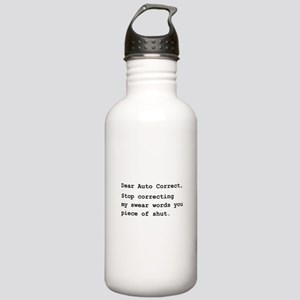 Auto Correct Shut Stainless Water Bottle 1.0L