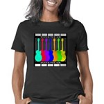 rainbowear Black Women's Classic T-Shirt