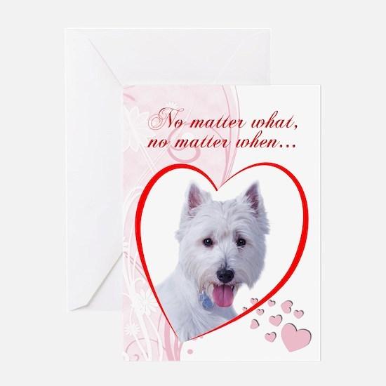 Westie Valentine's Card