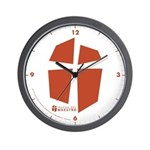 Iglesia Del Maestro (Ico-Red) Wall Clock