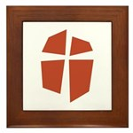 Iglesia Del Maestro (Ico-Red) Framed Tile