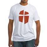 Iglesia Del Maestro (Ico-Red) Fitted T-Shirt