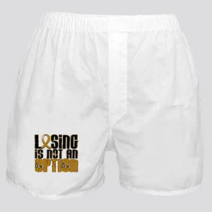 Losing Is Not An Option Appendix Cancer Boxer Shor