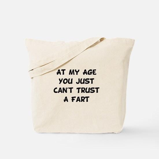 Trust Fart Tote Bag