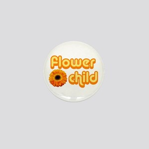 Flower Child Mini Button