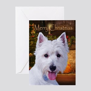 Westie Holiday Card