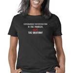 Government intervention tr Women's Classic T-Shirt